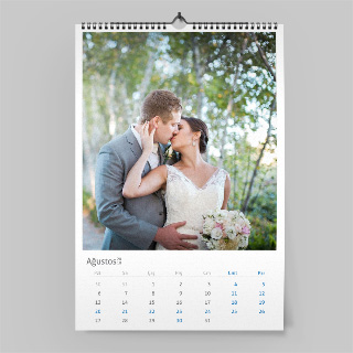 Düğün hazırlıkları, fotoğraf takvim, duvar takvimi, kendi fotoğraflarınla takvim