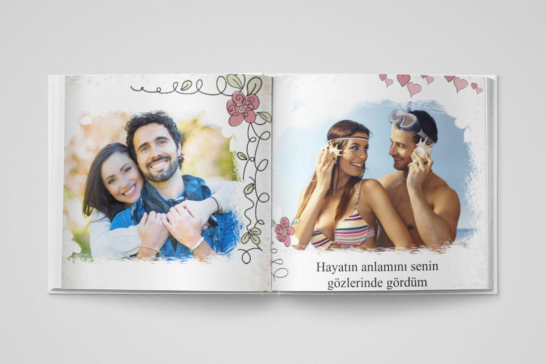 Evlilik Yıldönümü (29,5x29,5cm)