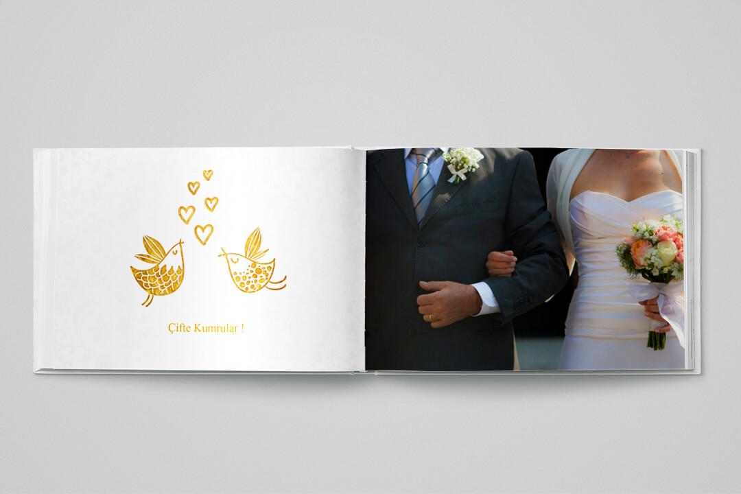 Evlilik / Düğün (21x15 cm)