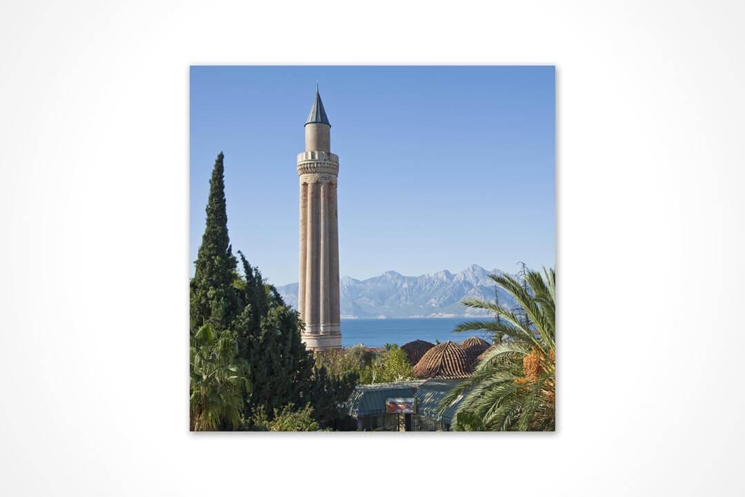 Kare - Antalya Yivli Minare 16