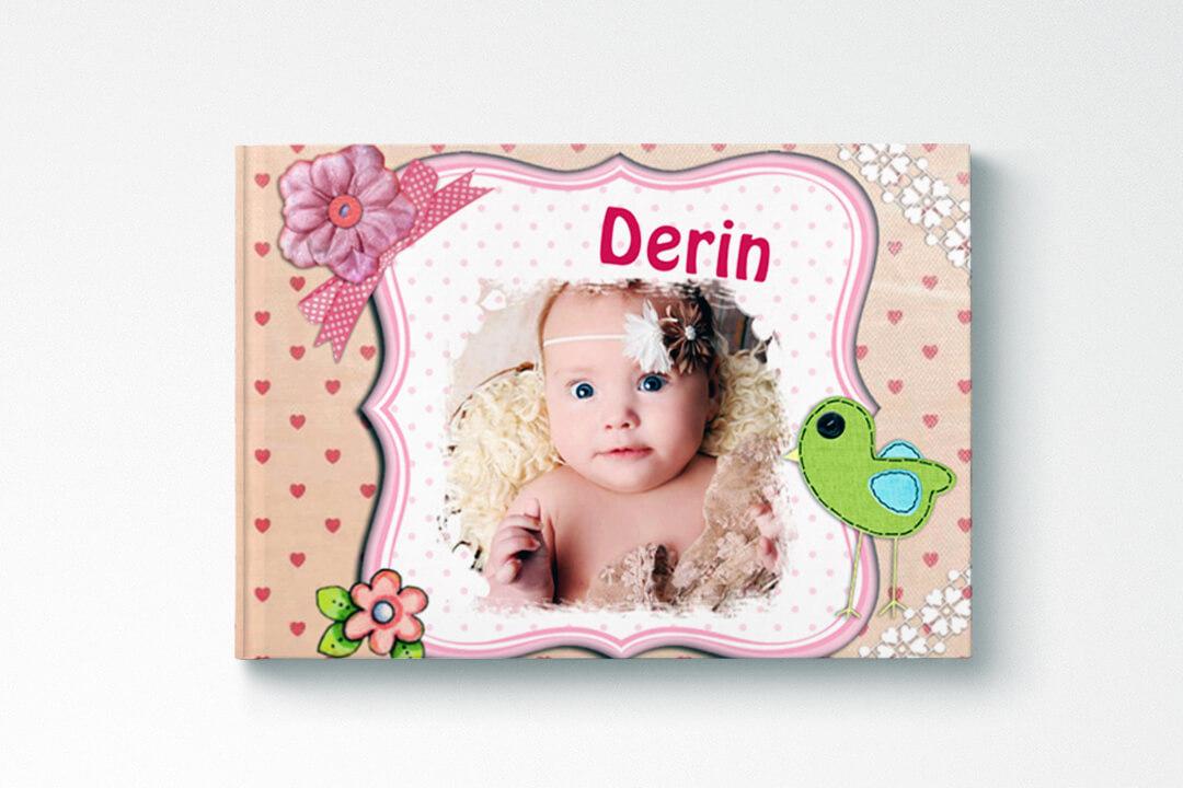 Kız Bebek (21x15 cm)