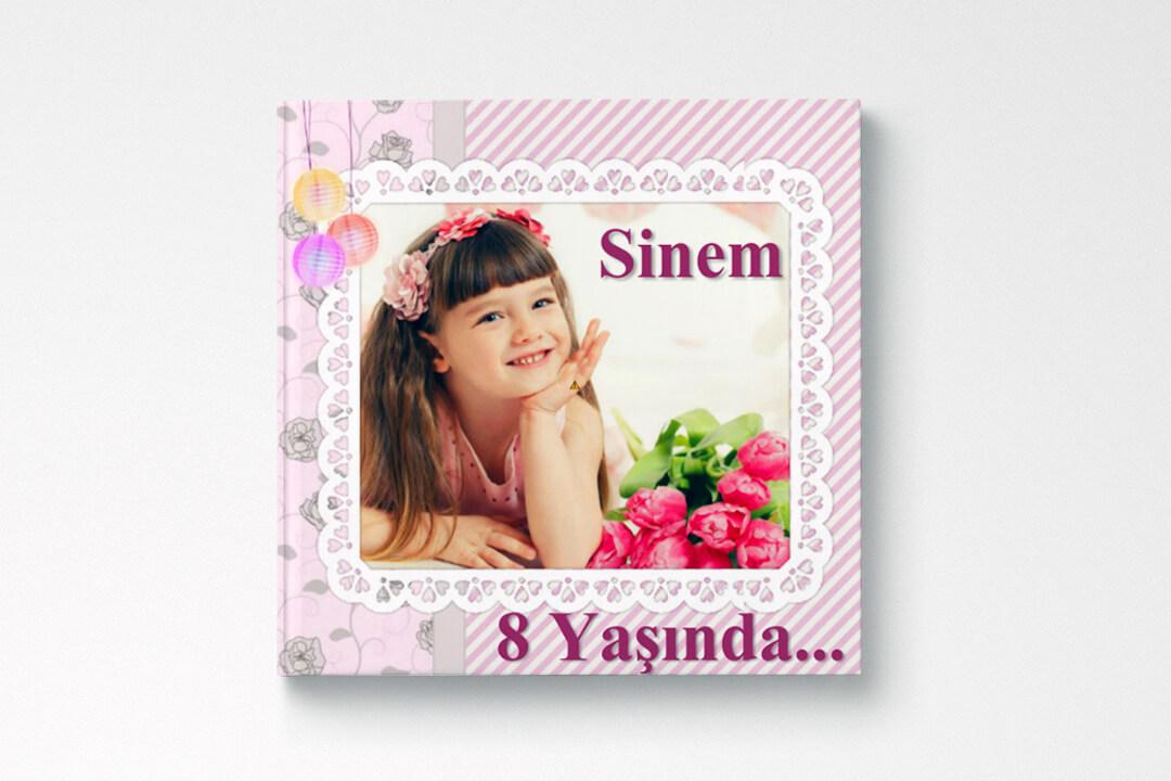 Doğum Günü / Kız Çocuk (15x15cm)