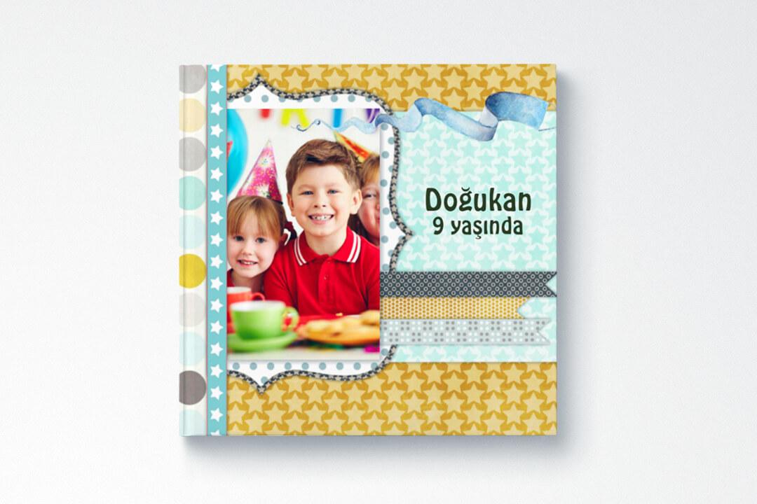 Doğum Günü / Erkek Çocuk (21x21cm)