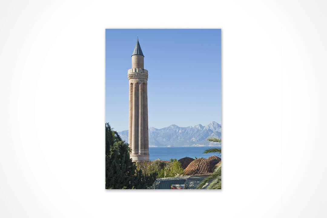 Dikey - Antalya Yivli Minare 16
