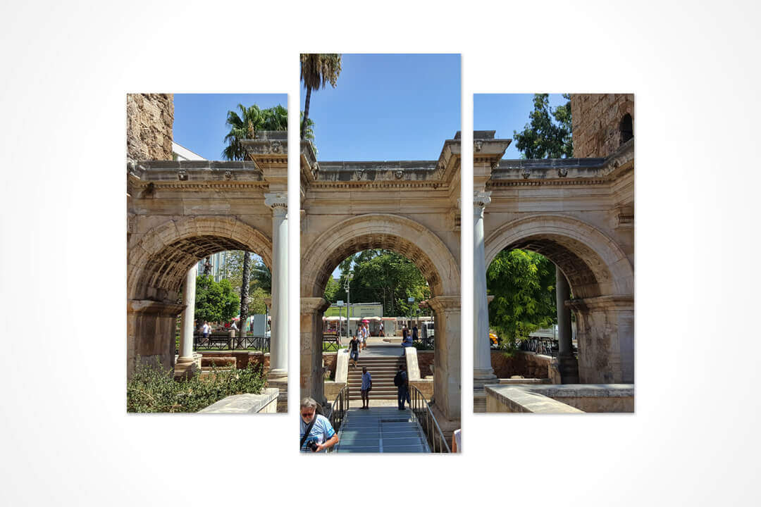 3 Parça Oval - Antalya Üç Kapılar 02