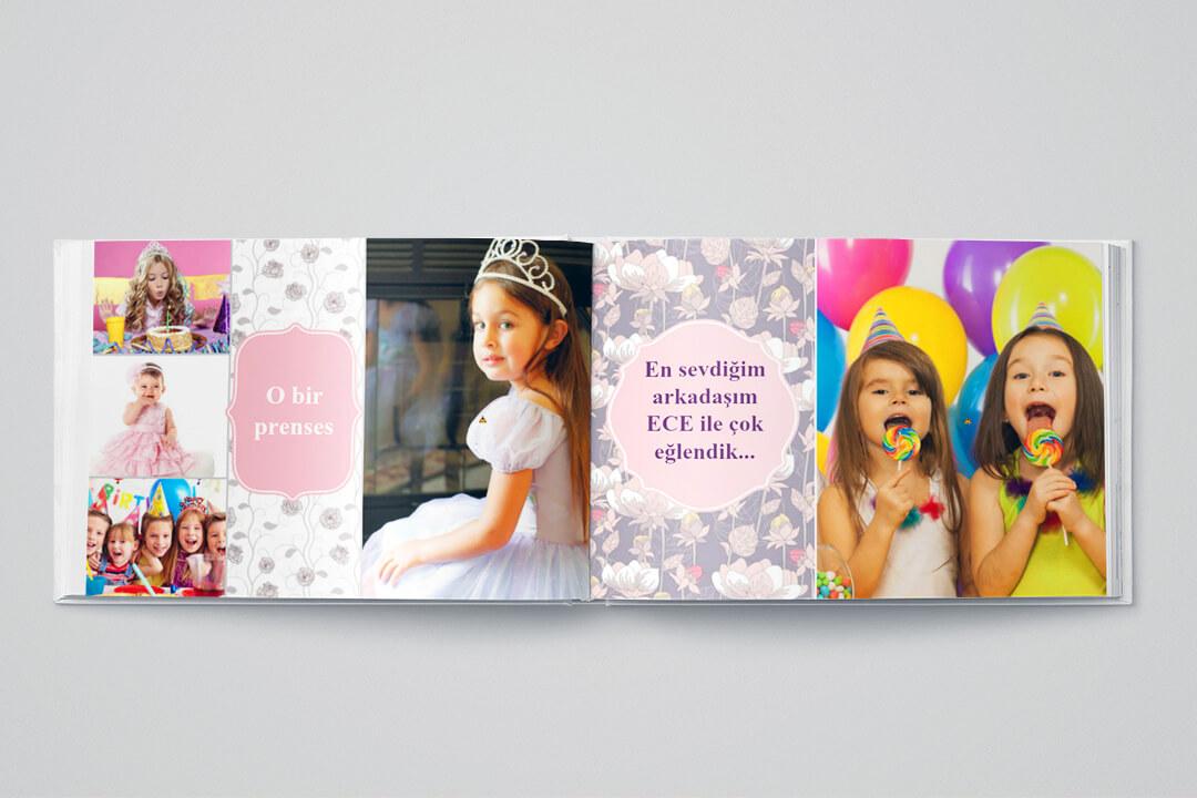 Doğum Günü / Kız Çocuk (21x15 cm)